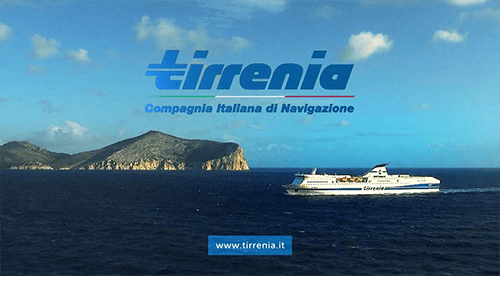 Tirrenia Commercial: Video editing